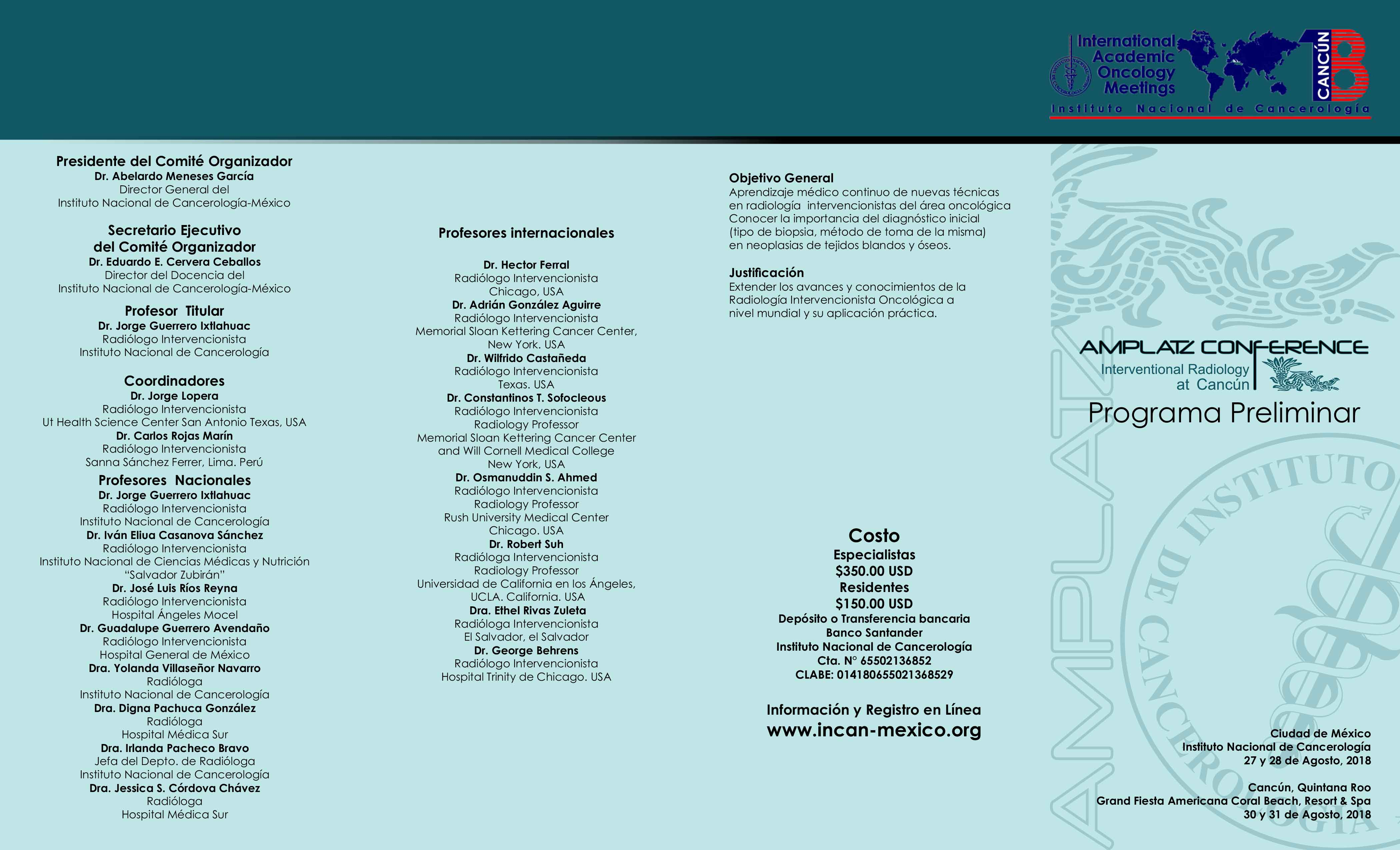 Amplatz Conference
